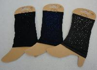 Boot Cuffs [Mini Colored Rhinestones]